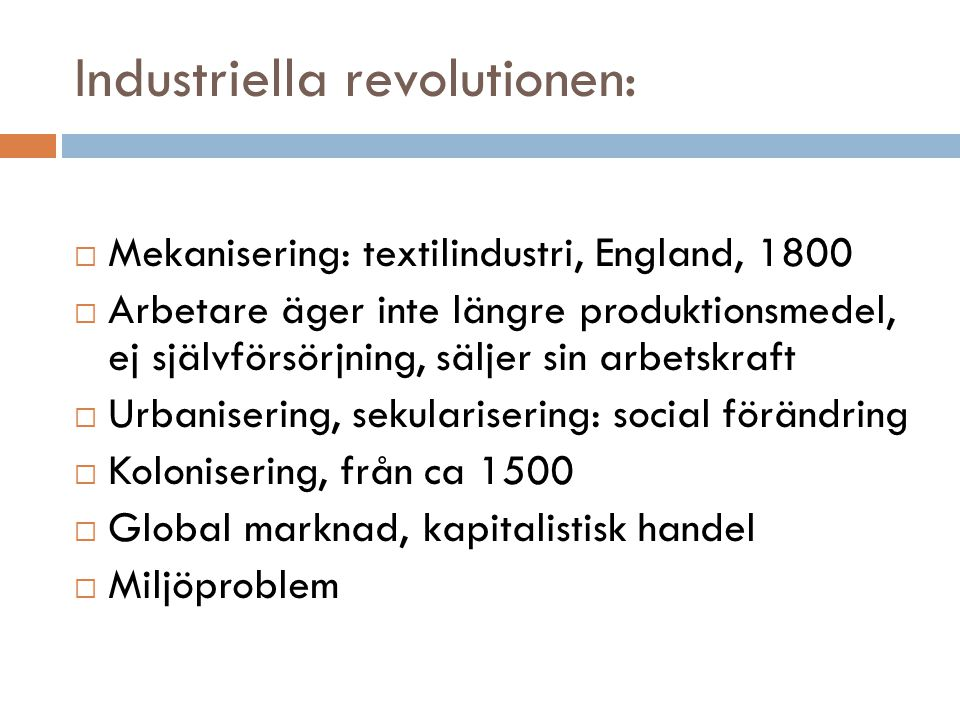 Industriella revolutionen: