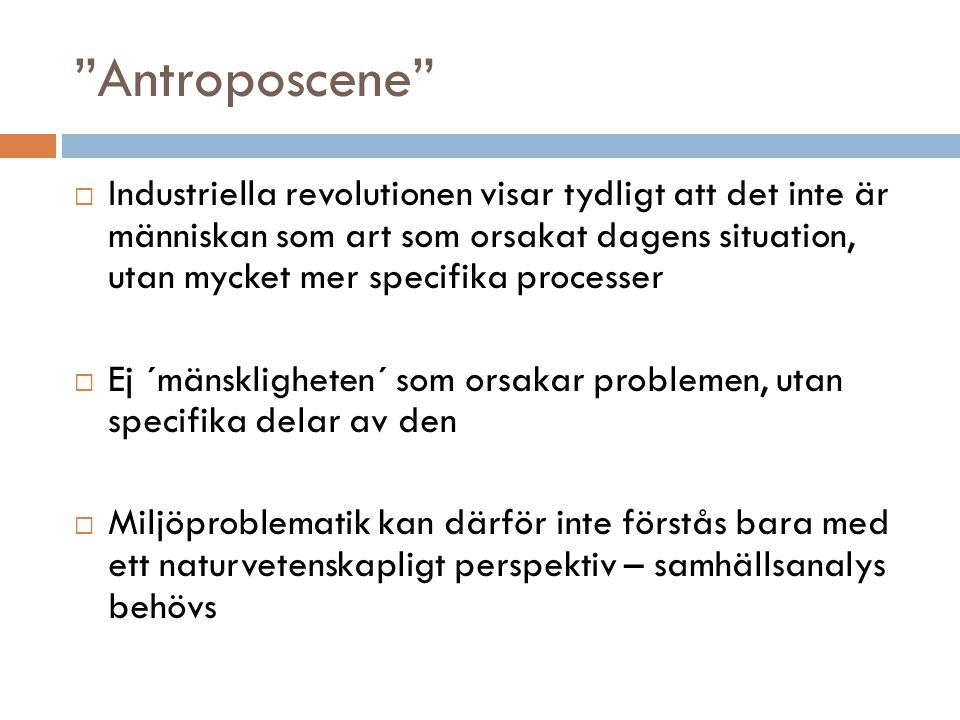 Antroposcene