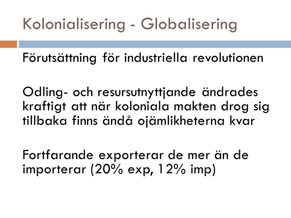 Kolonialisering - Globalisering