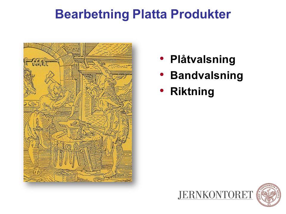 Bearbetning Platta Produkter