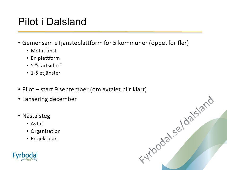 Fyrbodal.se/dalsland Pilot i Dalsland