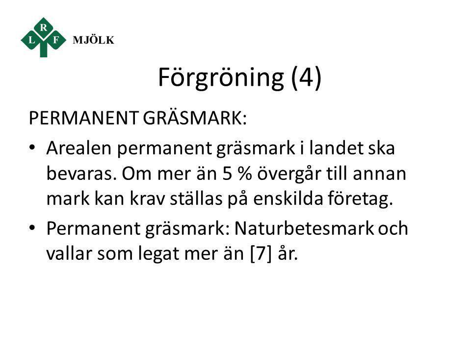 Förgröning (4) PERMANENT GRÄSMARK: