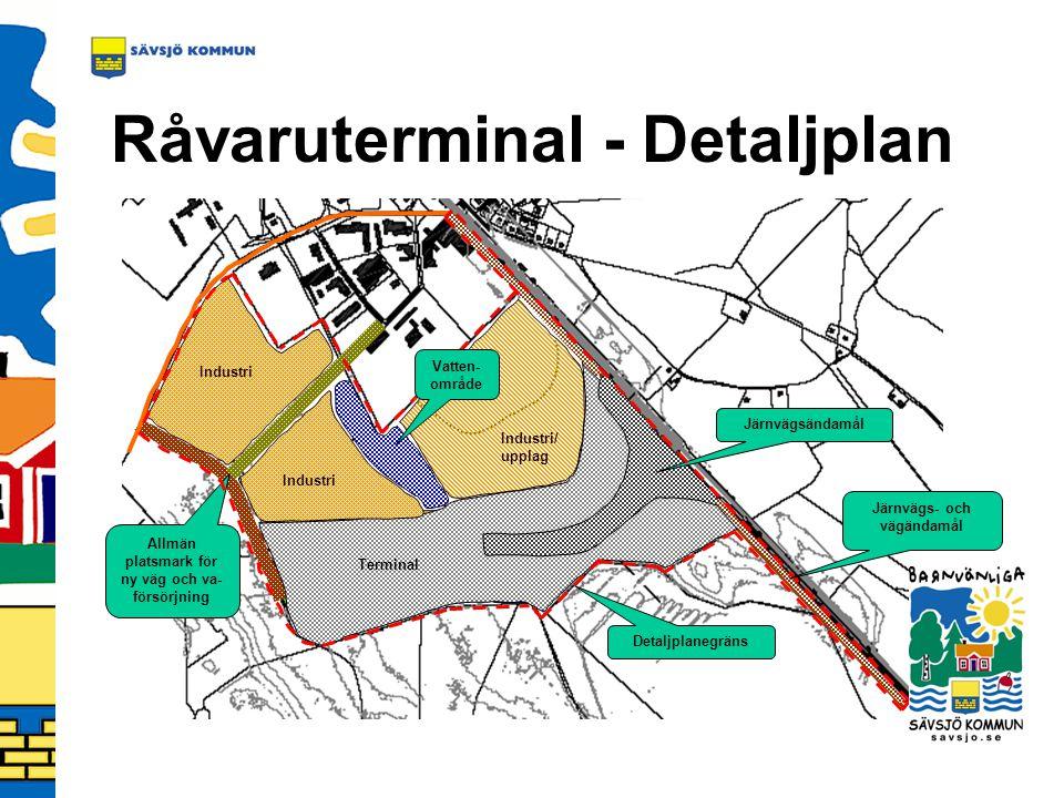 Råvaruterminal - Detaljplan