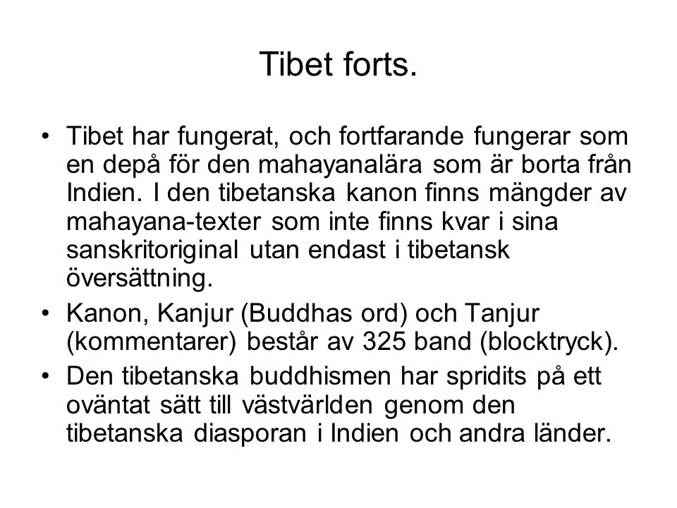 Tibet forts.
