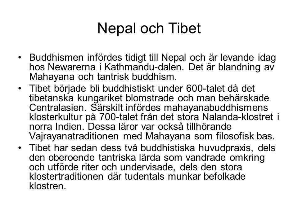 Nepal och Tibet