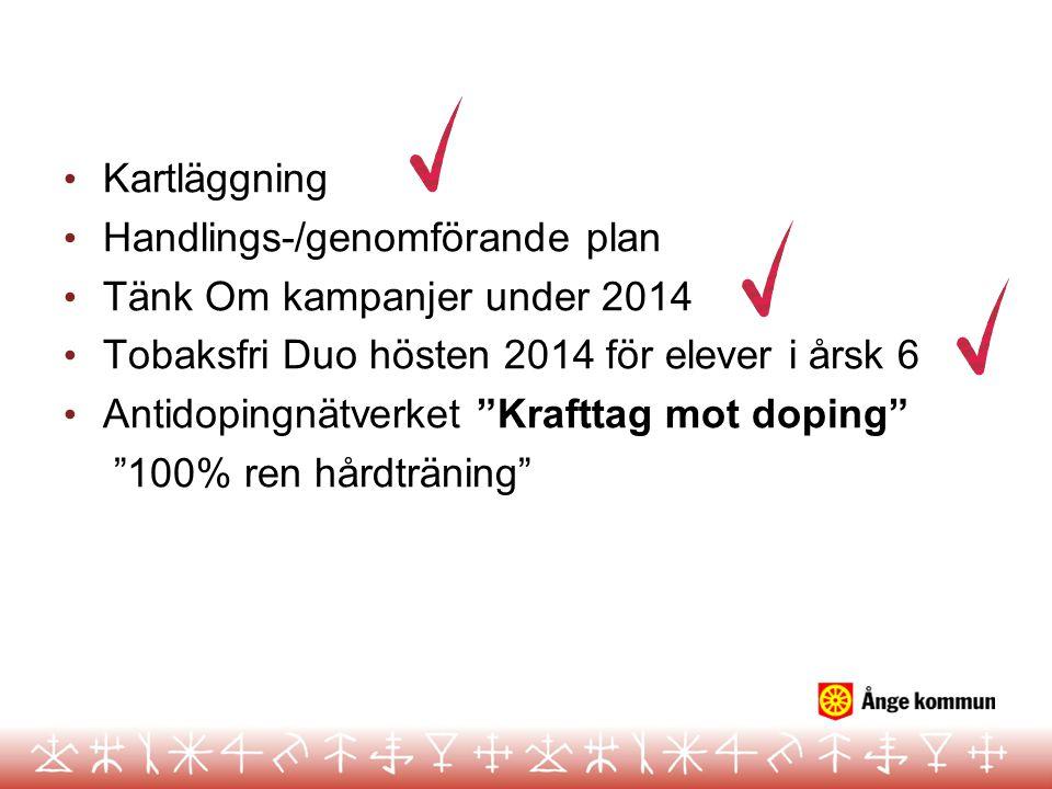 Handlings-/genomförande plan Tänk Om kampanjer under 2014