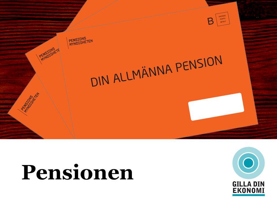 Pensionen EN FEMTEDEL AV LIVET – MEN VAD SKA MAN LEVA PÅ