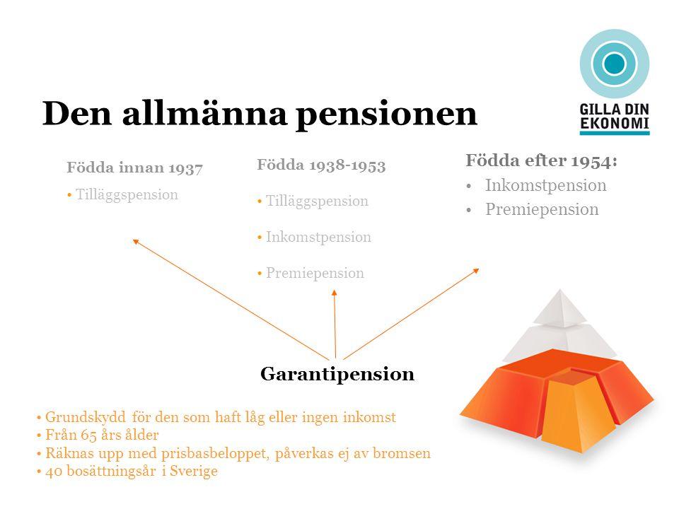 Den allmänna pensionen