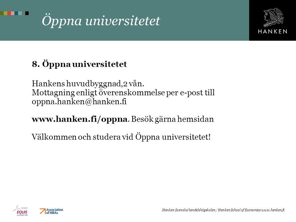 Öppna universitetet