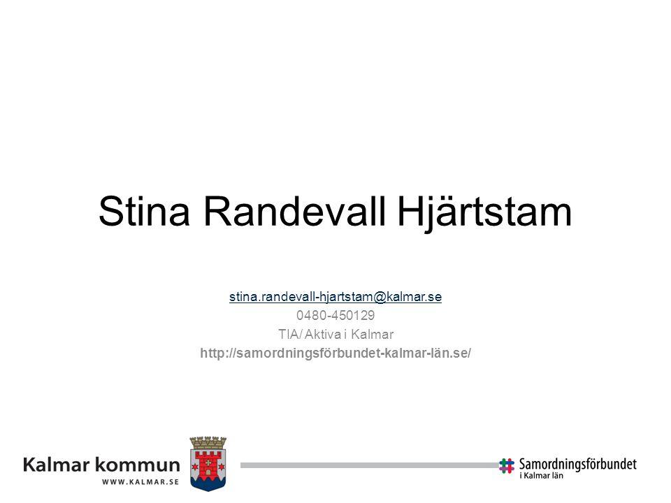 Stina Randevall Hjärtstam