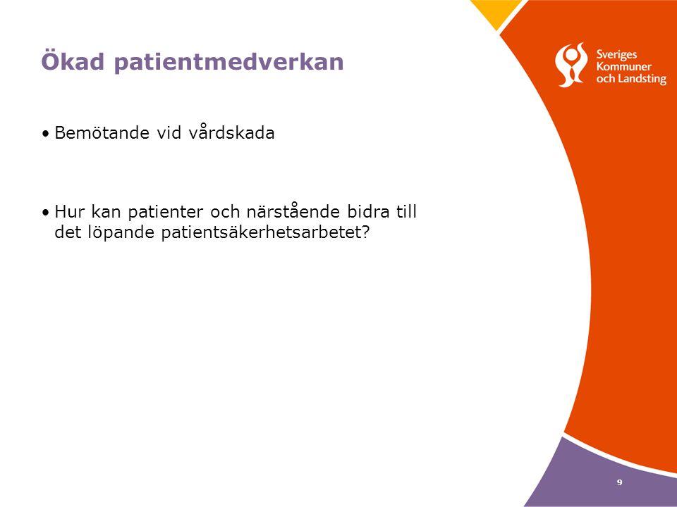 Ökad patientmedverkan