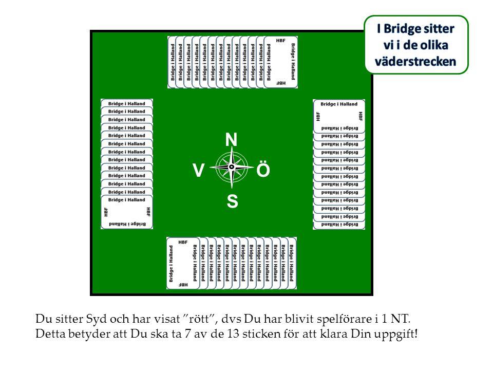 I Bridge sitter vi i de olika