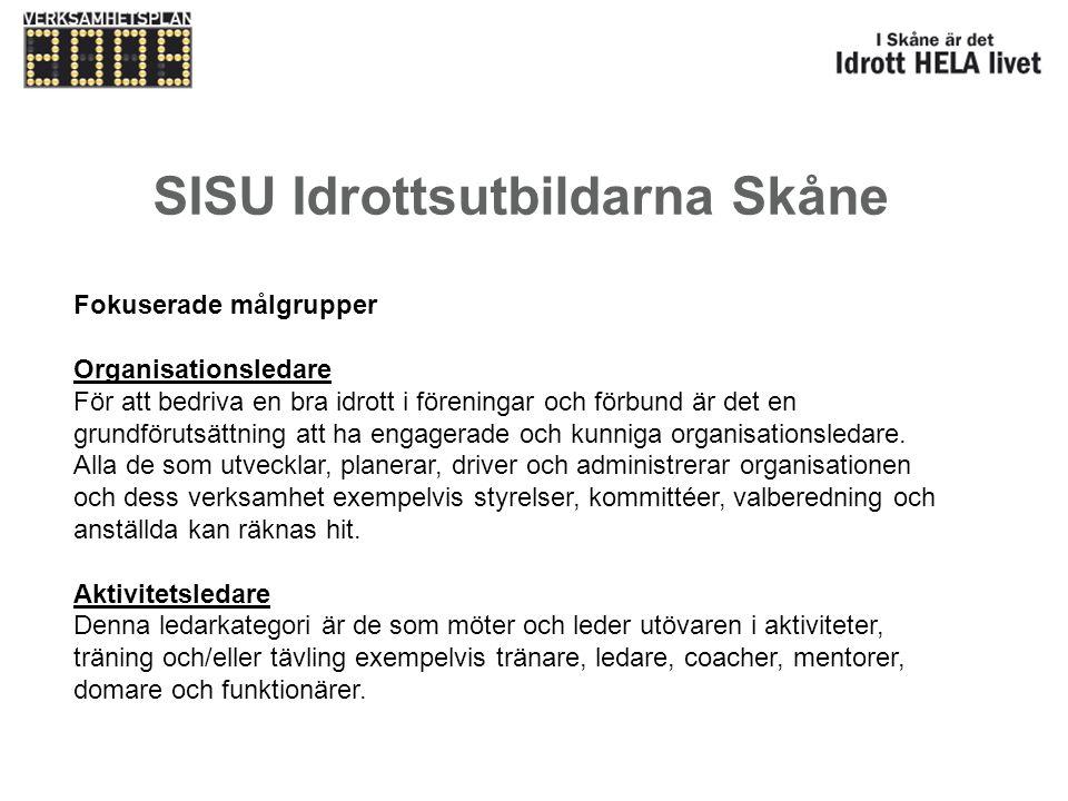 SISU Idrottsutbildarna Skåne