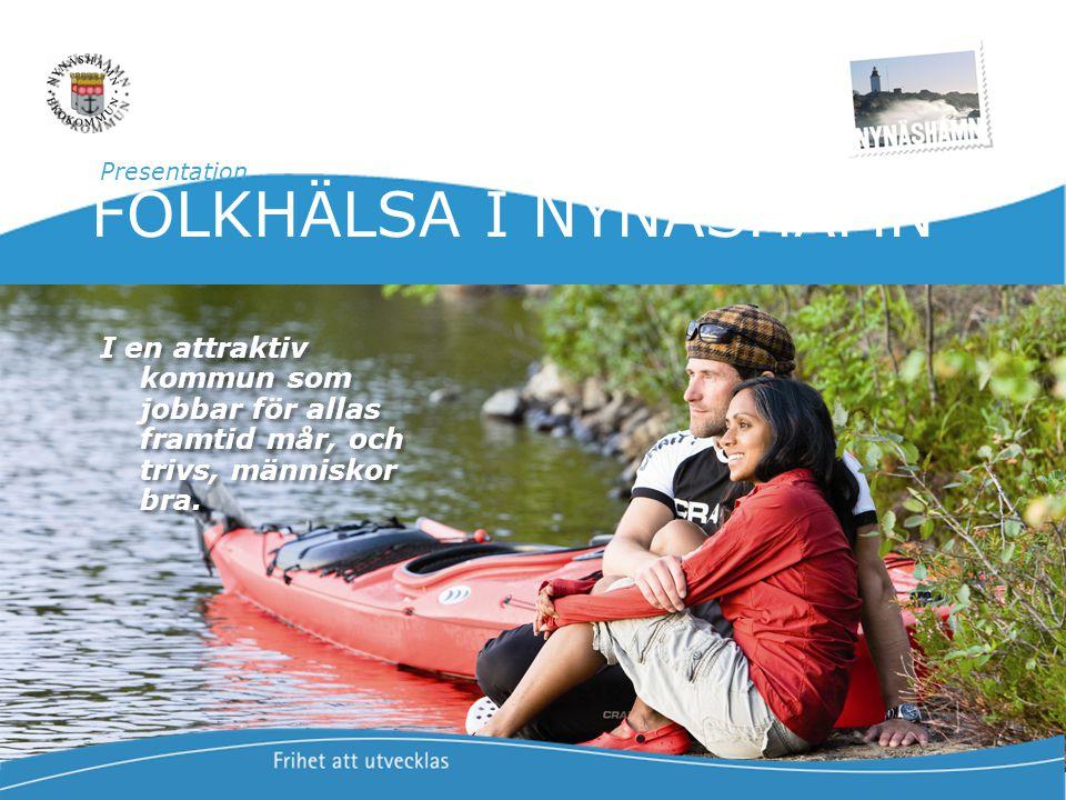 Presentation FOLKHÄLSA I NYNÄSHAMN.