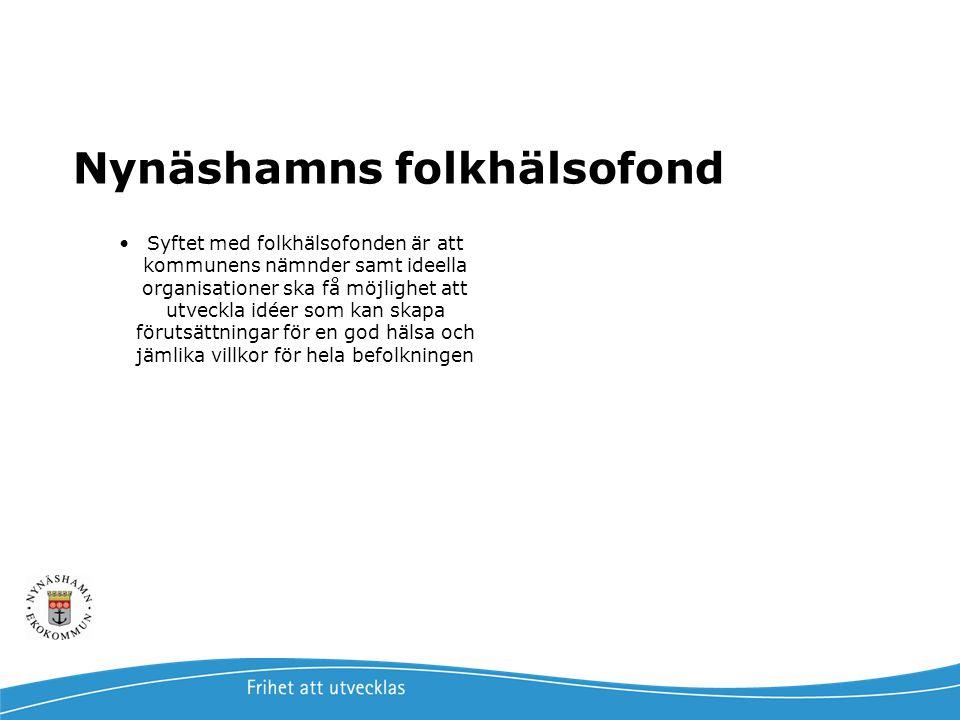 Nynäshamns folkhälsofond