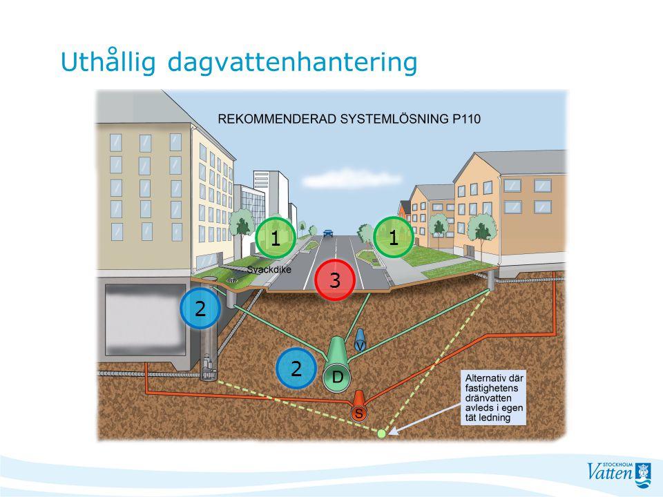 Uthållig dagvattenhantering