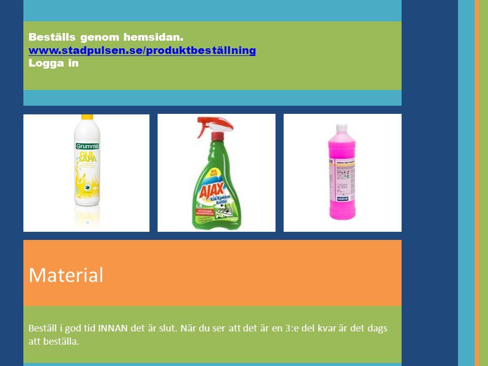 Beställs genom hemsidan. www.stadpulsen.se/produktbeställning Logga in