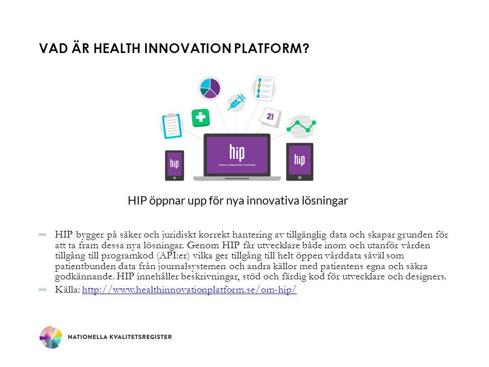 Vad är Health Innovation Platform