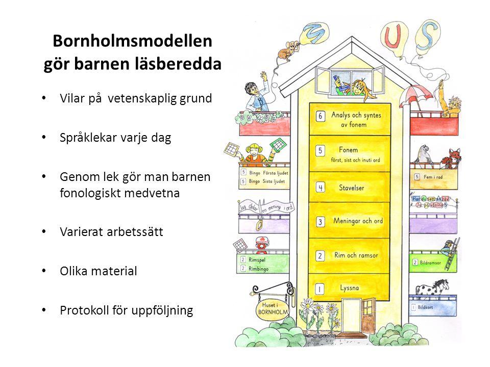 Bornholmsmodellen gör barnen läsberedda
