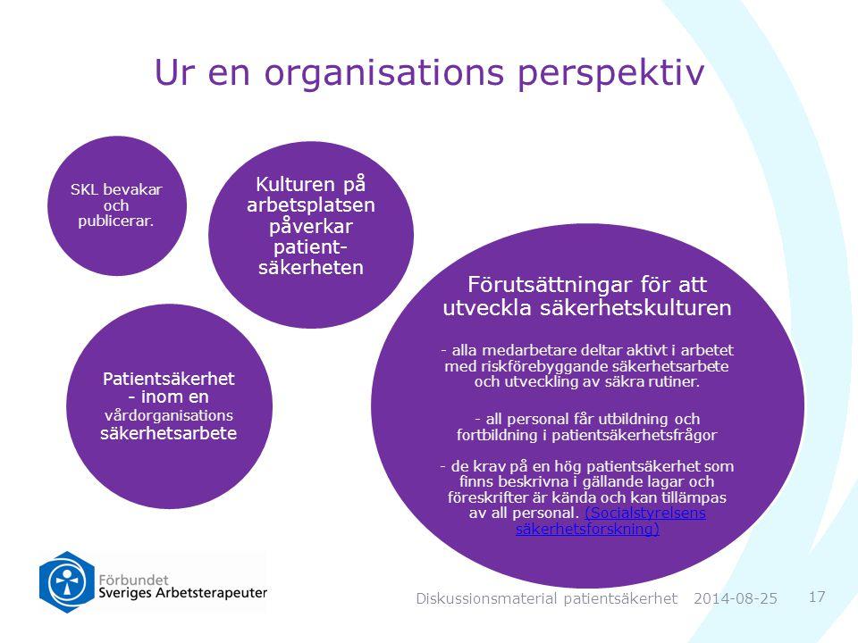 Ur en organisations perspektiv