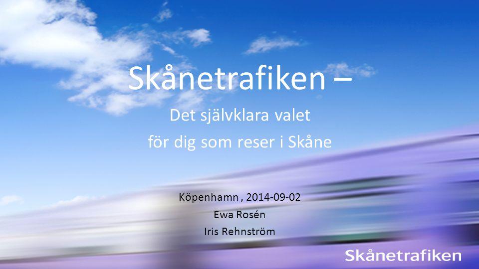 för dig som reser i Skåne