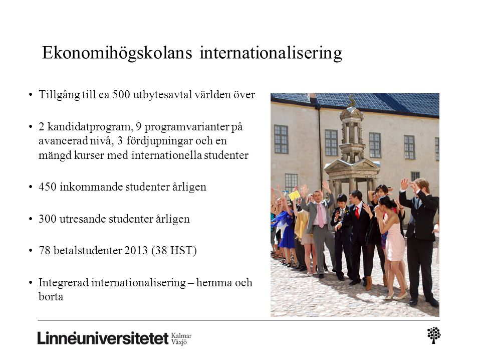 Ekonomihögskolans internationalisering