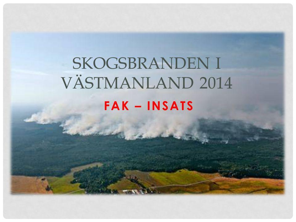 Skogsbranden i Västmanland 2014