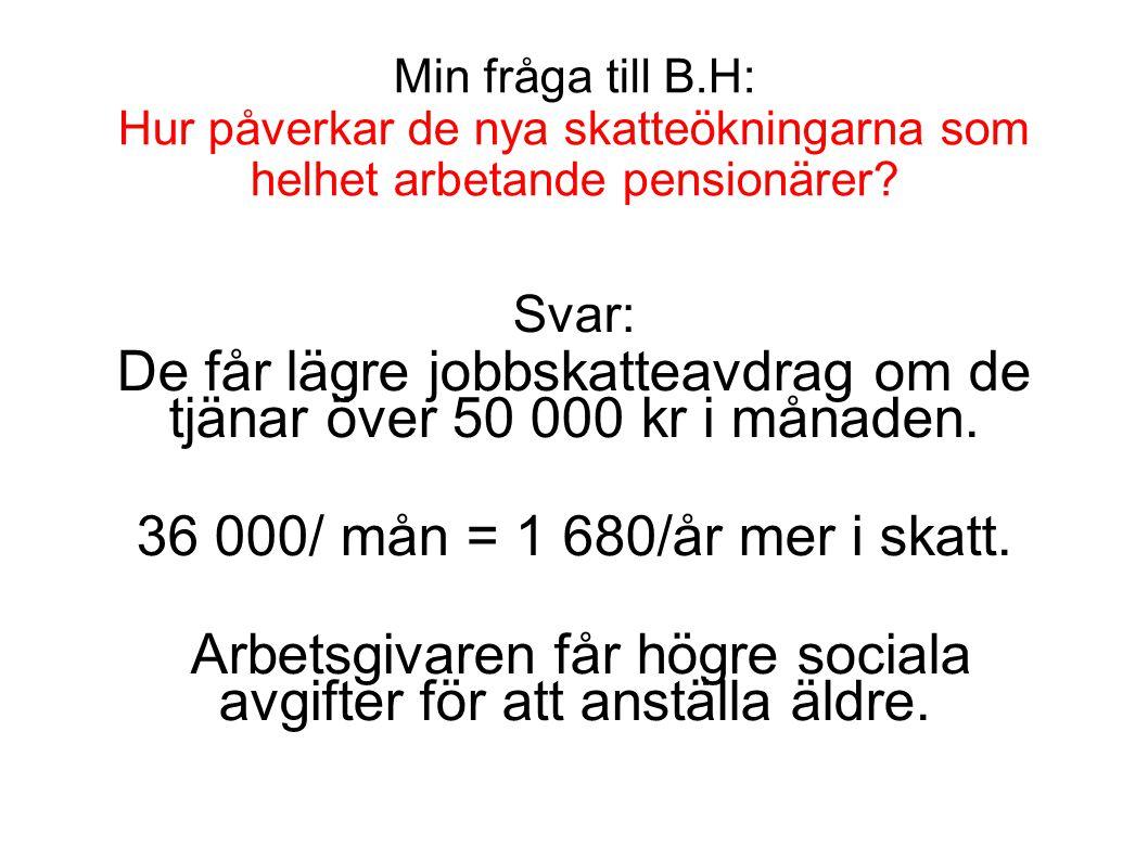 De får lägre jobbskatteavdrag om de tjänar över 50 000 kr i månaden.