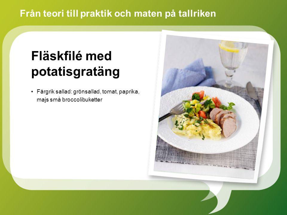 Fläskfilé med potatisgratäng