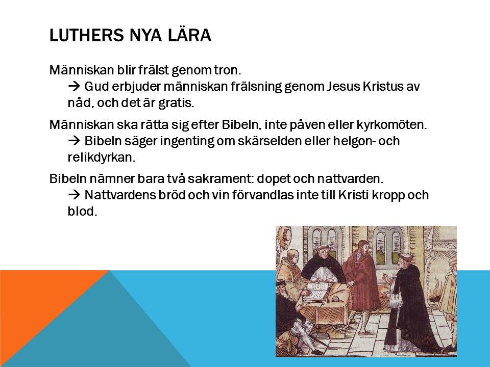 Luthers nya lära