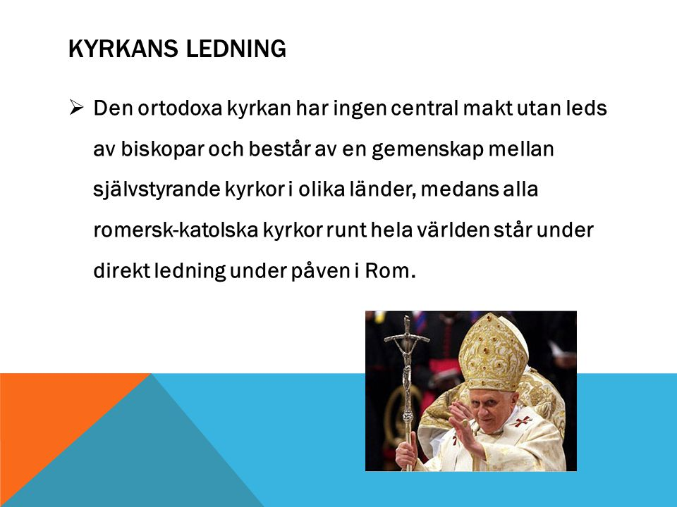 Kyrkans ledning