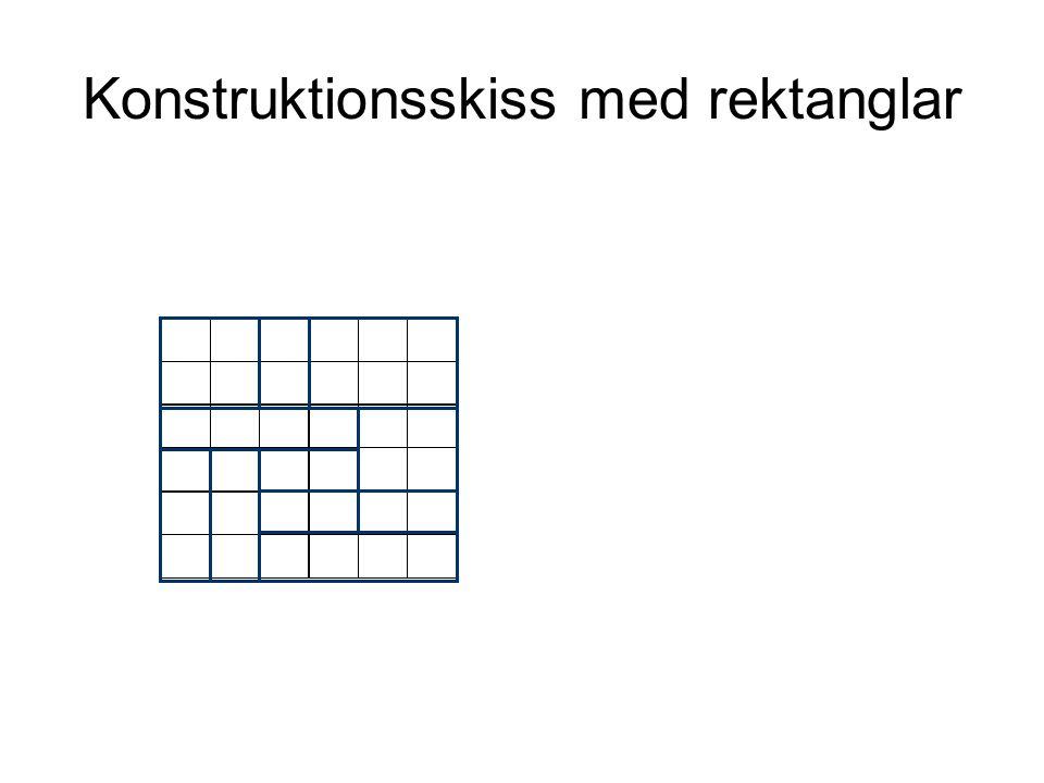 Konstruktionsskiss med rektanglar