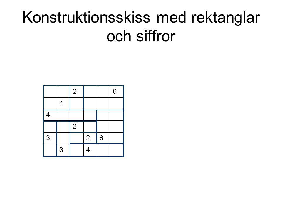 Konstruktionsskiss med rektanglar och siffror