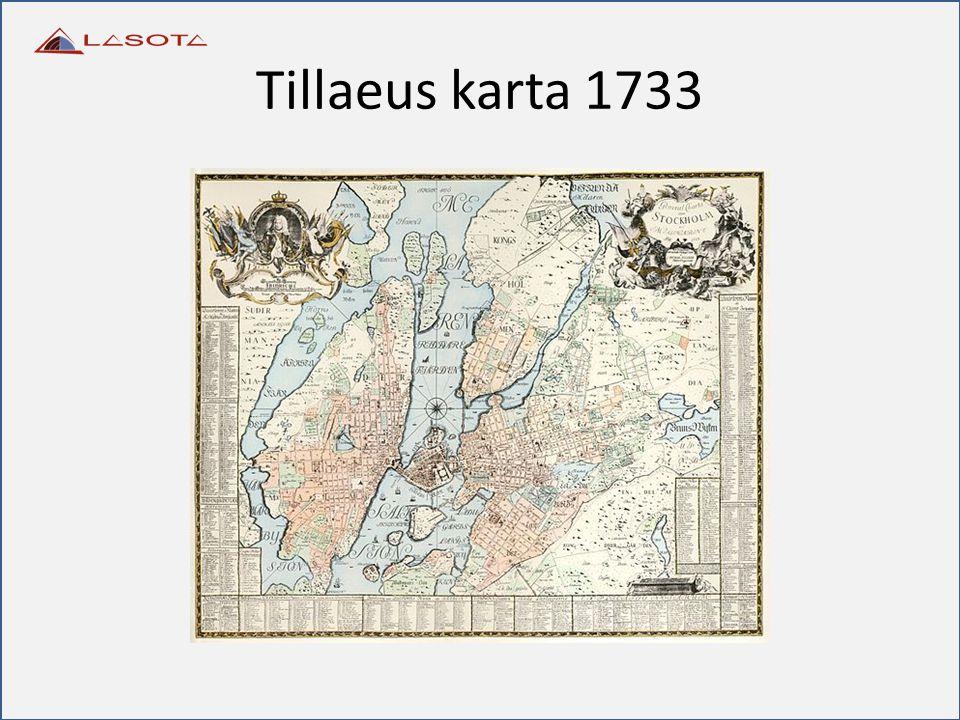 Tillaeus karta 1733