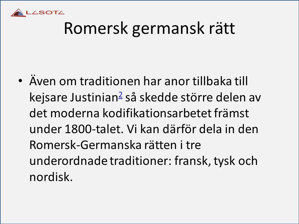 Romersk germansk rätt