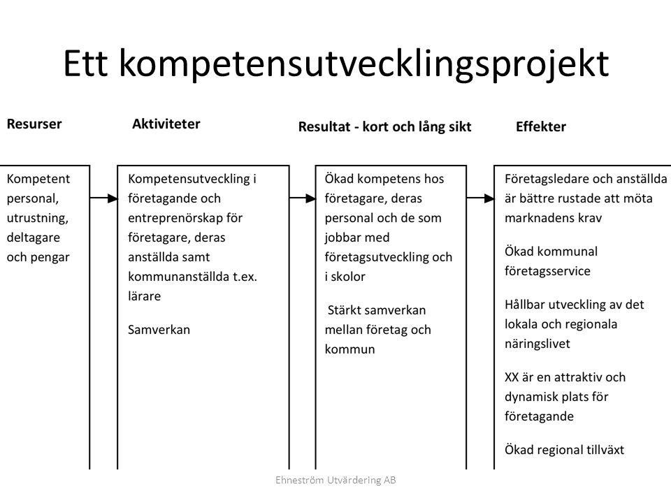 Ett kompetensutvecklingsprojekt
