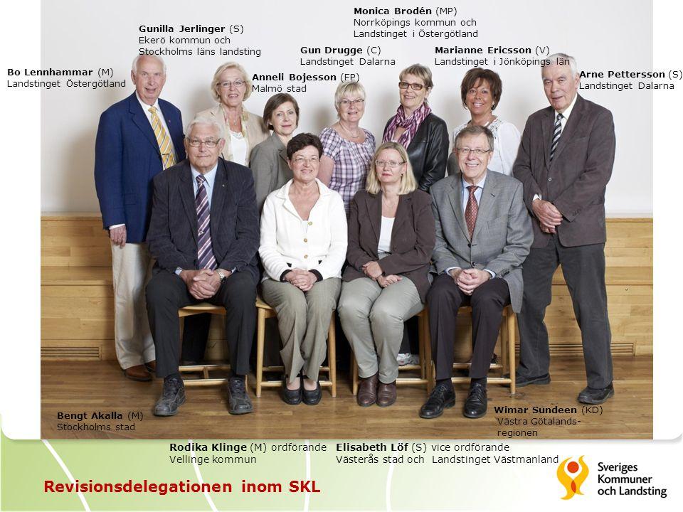 FOTO Revisionsdelegationen inom SKL Det här är Revisionsdelegationen