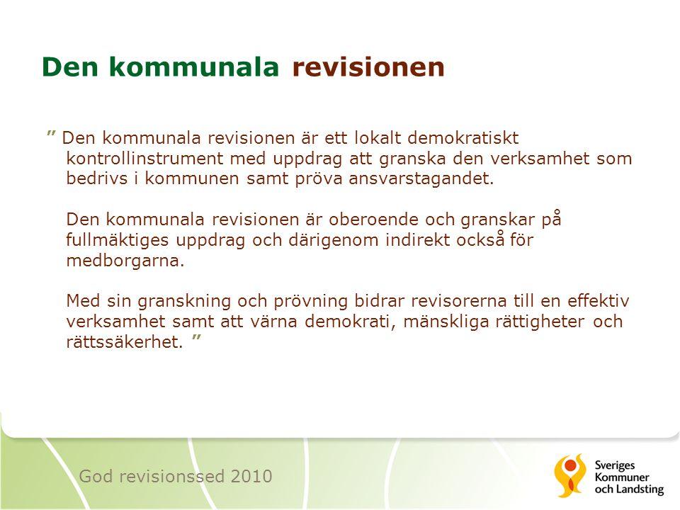 Den kommunala revisionen