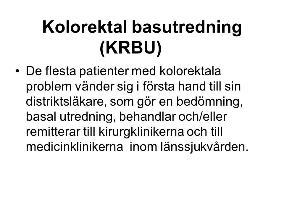 Kolorektal basutredning (KRBU)