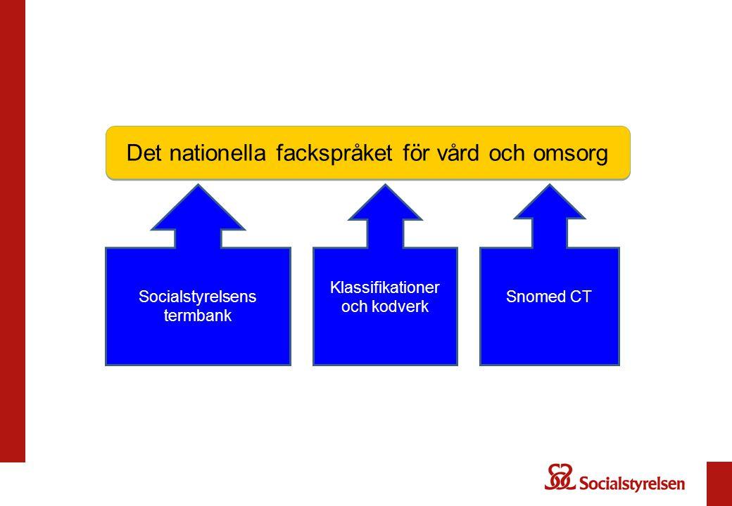 Det nationella fackspråket för vård och omsorg
