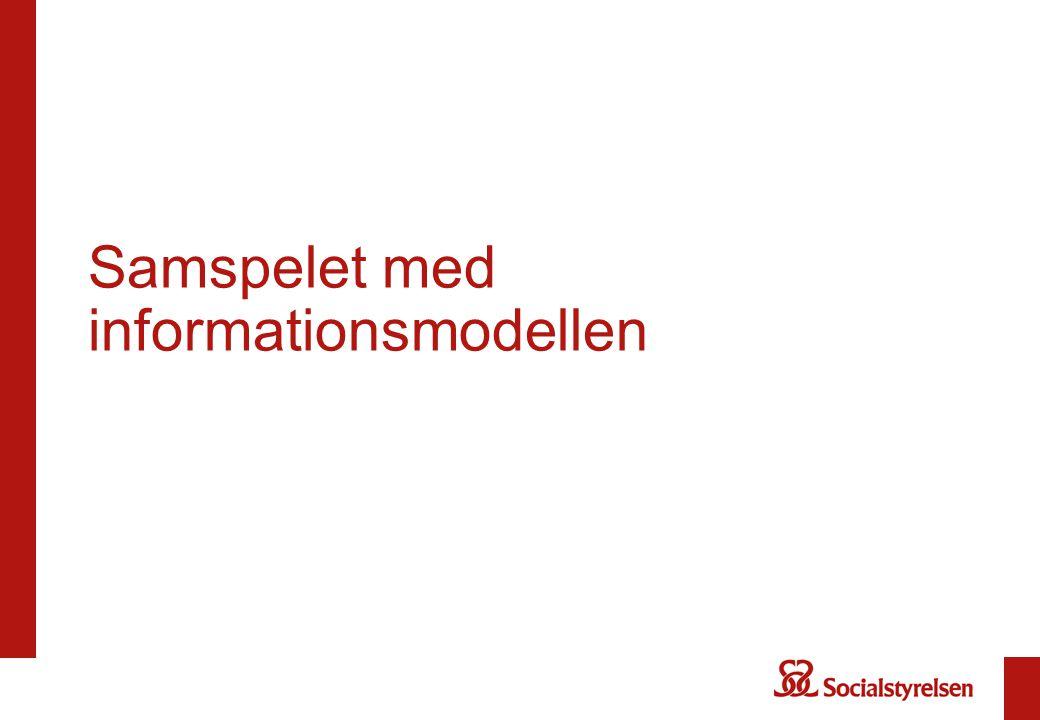 Samspelet med informationsmodellen