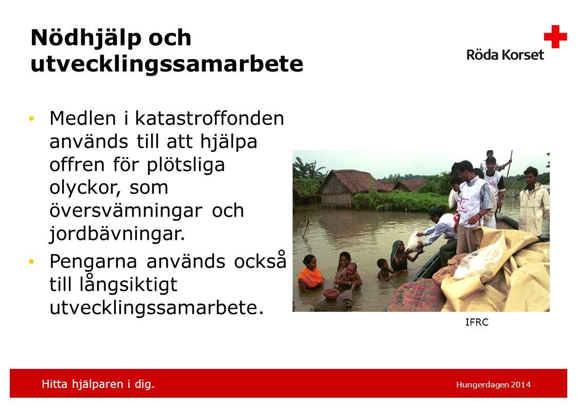 Nödhjälp och utvecklingssamarbete