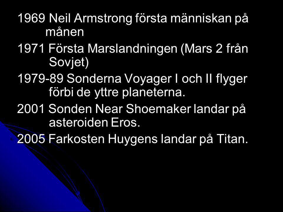1969 Neil Armstrong första människan på månen