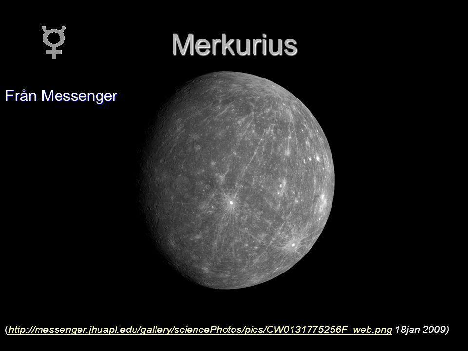 Merkurius Från Messenger