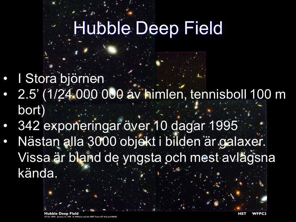 Hubble Deep Field I Stora björnen