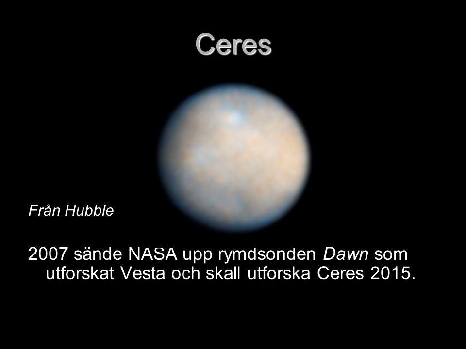 Ceres Från Hubble.