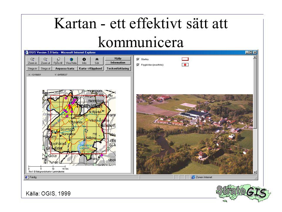 Kartan - ett effektivt sätt att kommunicera