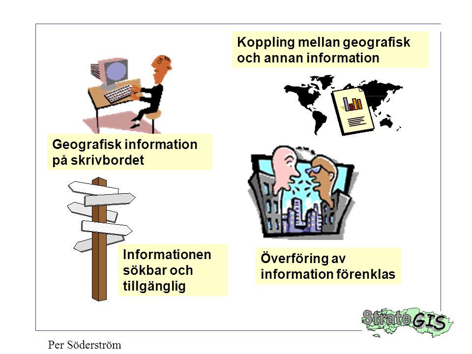 Koppling mellan geografisk och annan information