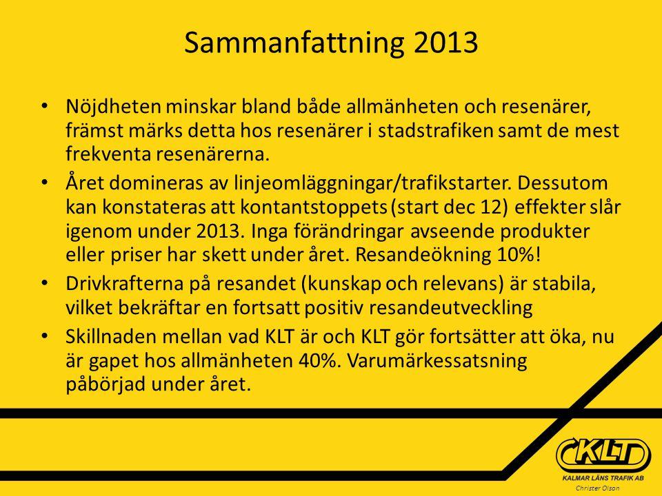Sammanfattning 2013