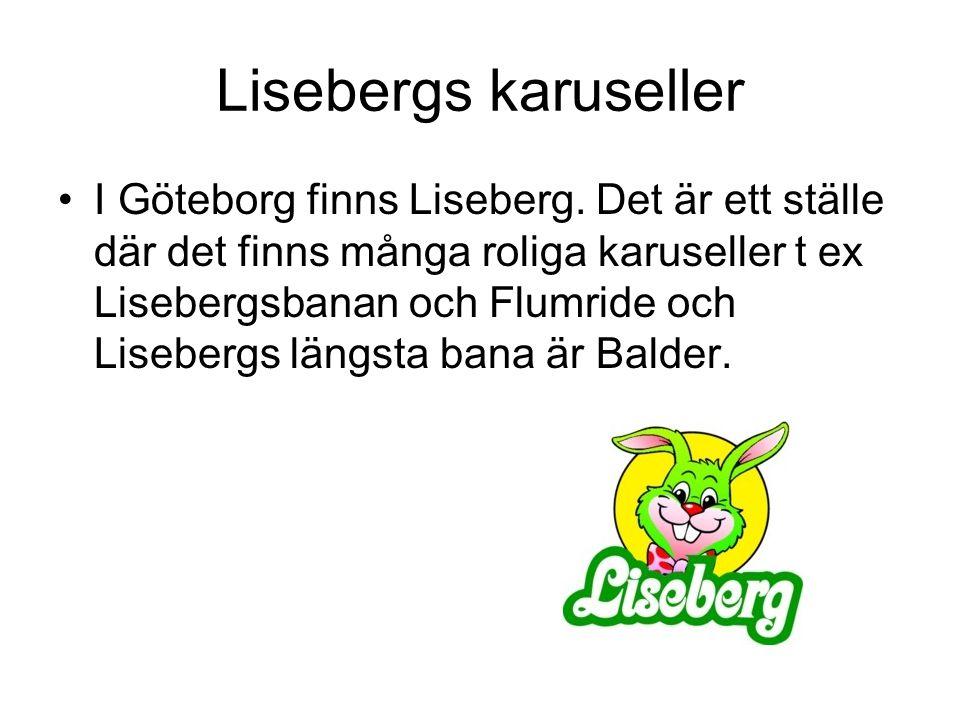 Lisebergs karuseller